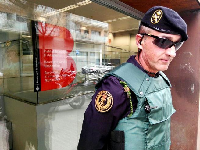 Operación de la Guardia Civil contra la financiación ilegal de CDC