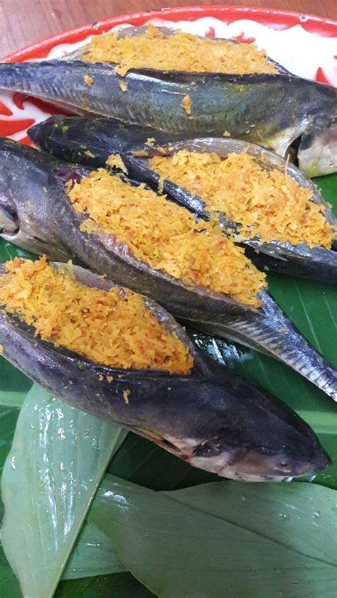 rasa dapurku  ikan cencaru sumbat kelapa