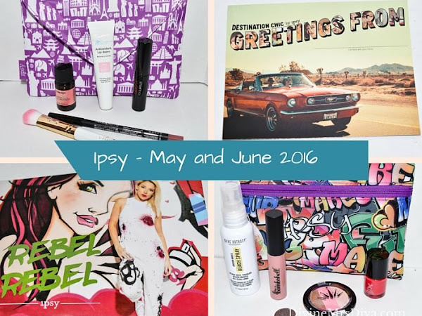 Ipsy Bag - May and June 2016