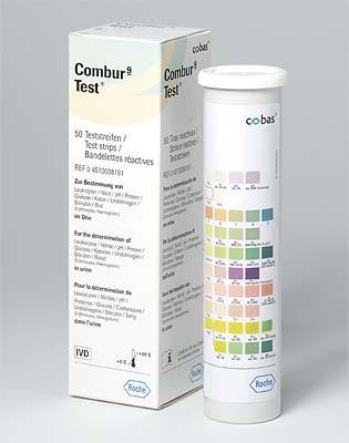 Combur 9 Test, 50 oder 100 Stück, Import- oder deutsche ...