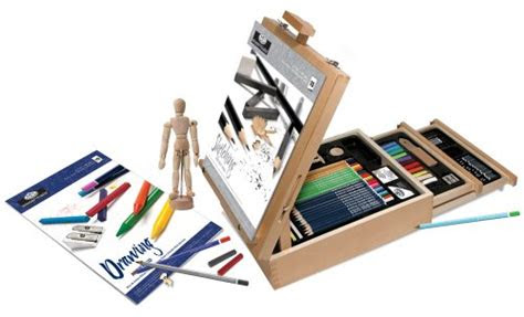 deluxe art kits  teens  adults