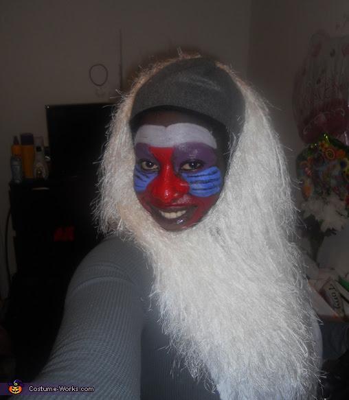 Lion King Rafiki Costume