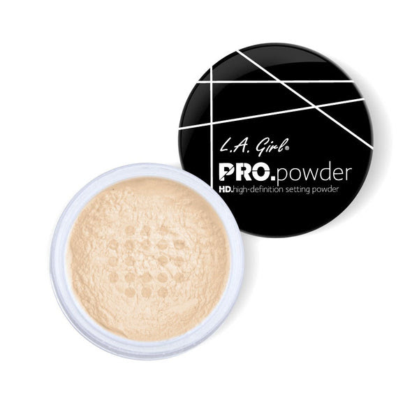 L.A. Girl PRO. Powder HD Setting Powder - Banana Yellow