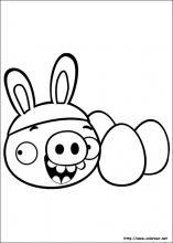 Dibujos De Angry Birds Para Colorear En Colorearnet
