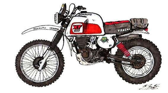Ur XT 500  1978/79