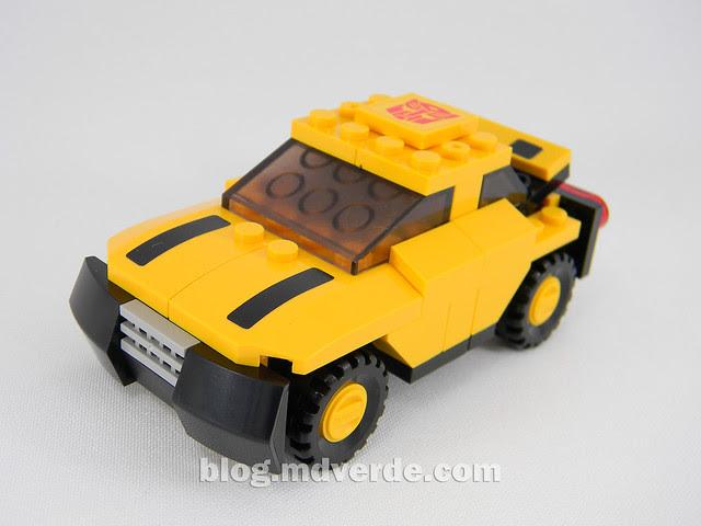 Transformers Bumblebee - Kre-O - modo alterno