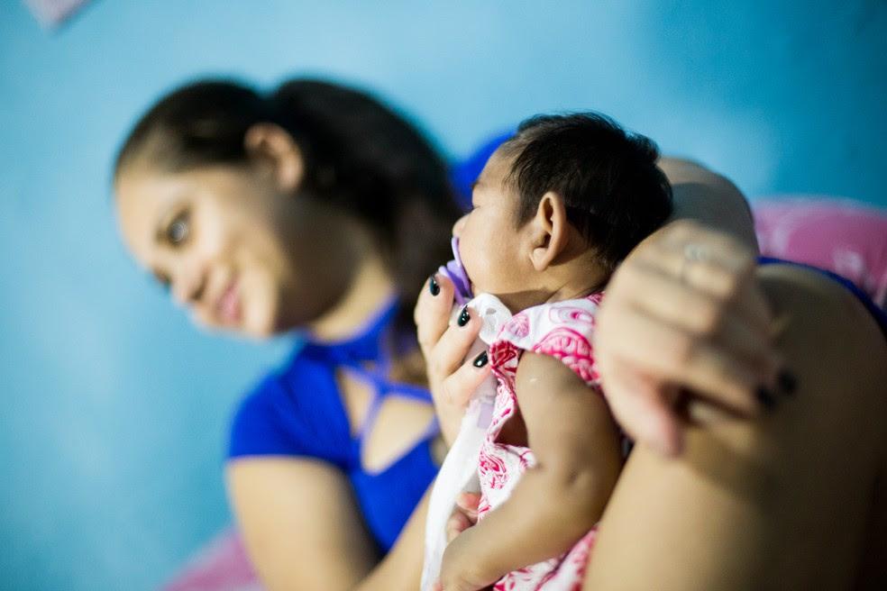 Microcefalia é uma das malformações causadas pela infecção do zika durante a gravidez (Foto: Jonathan Lins/G1)
