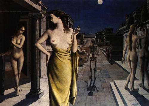 Lunar City  - Paul Delvaux