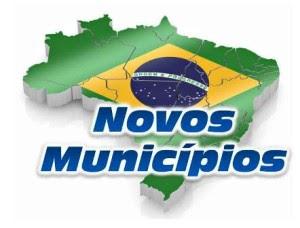 Resultado de imagem para criação de municípios