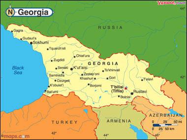 Map Of Russia And Georgia.Georgia Russia Map Loveluxleblog