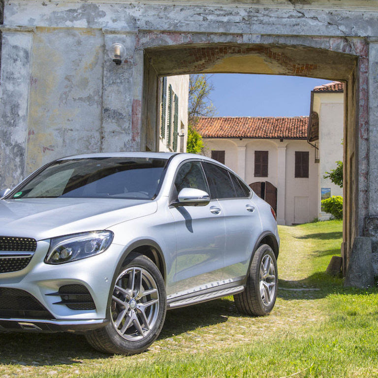 The Mercedes-Benz GLC Coupe Is the SUV That Wants to Play ...