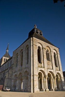 St Benoît-sur-Loire, Glória da Idade Média