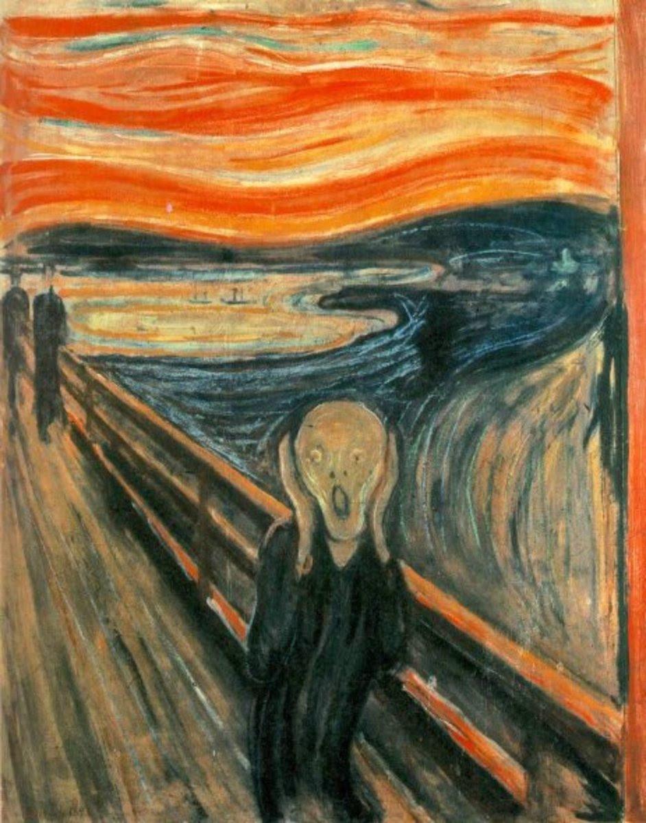8. The Scream: By Edward Munich