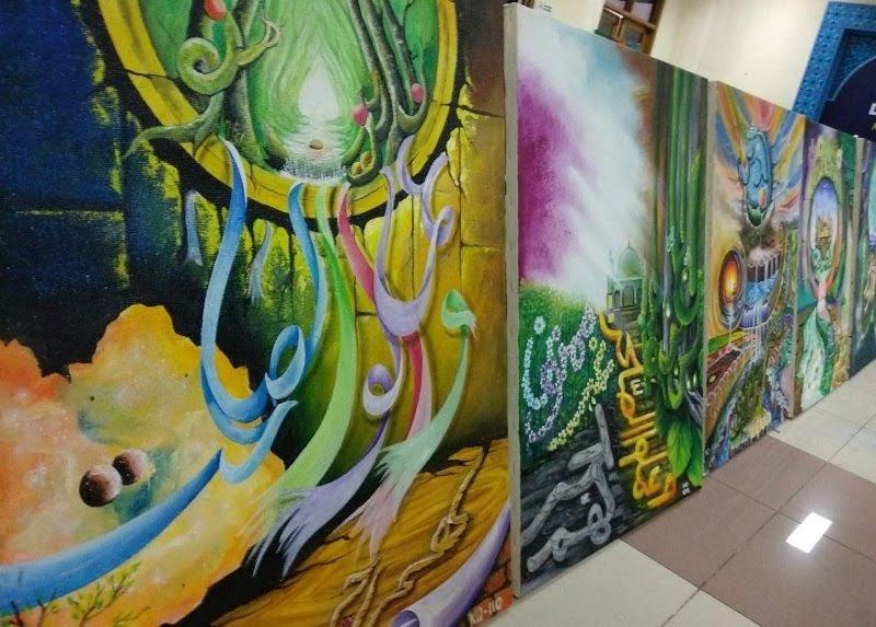 Lukisan Abstrak Mudah Ditiru - Guru Galeri