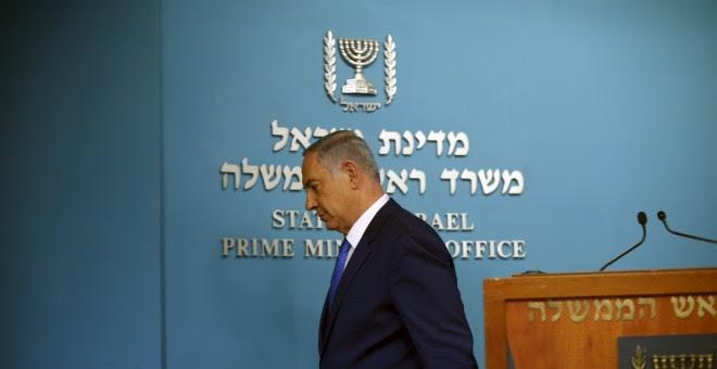 El primer ministro israelí, Benjamin Netanyahu.- REUTERS