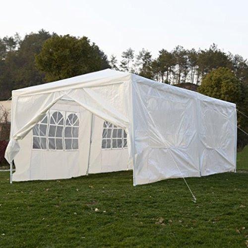 Qisan Canopy tent carport 10 X 20-feet Domain Carport with ...