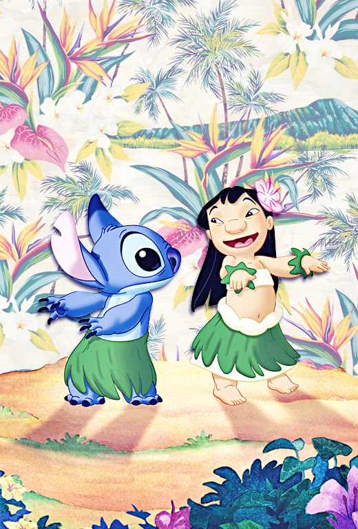 iPhone Backgrounds → Lilo and Stitch by request