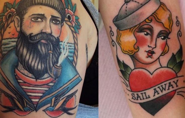 Los Tatuajes Old School Ya No Es Sólo Cosa De Marineros Le Garage Tv