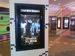 Cowboy & Aliens Movie Poster