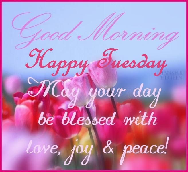 Image result for Happy Tuesday with flowers in May
