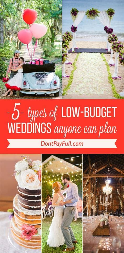 17 Best ideas about Low Budget Wedding on Pinterest