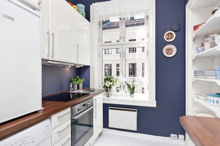 wohnen im kleinen Appartement - Einrichtungsidee für ...