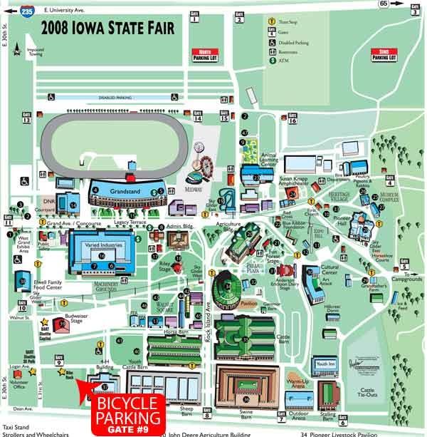 iowa state fairground map Iowa State Fair Map Afp Cv iowa state fairground map