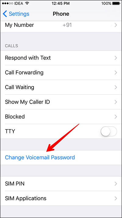 How to Change or Reset iPhone Voicemail Password | Leawo ...