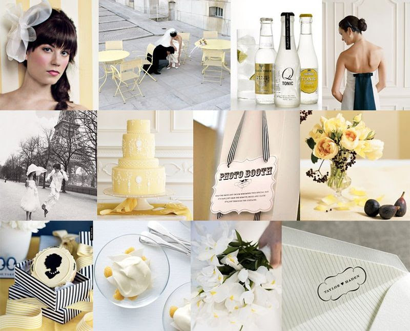 Here is some inspiration for a french themed wedding