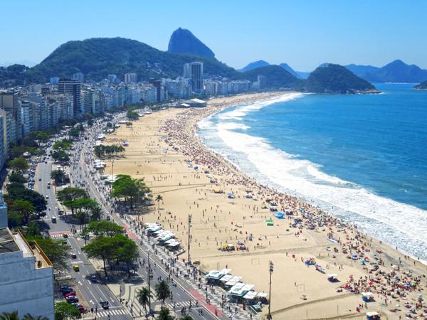 Copacabana Beach - Best Beaches in Rio de Janeiro, Brazil