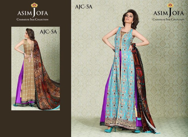Asim-Jofa-Charmeuse-Beautiful-Silk-Eid-Fashionable-Dress-2013-For-Women-Girls-11