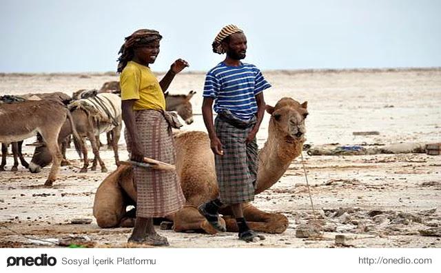 Dünyada Yerleşimin Olduğu En Sıcak Yer - Dallol, Etiyopya