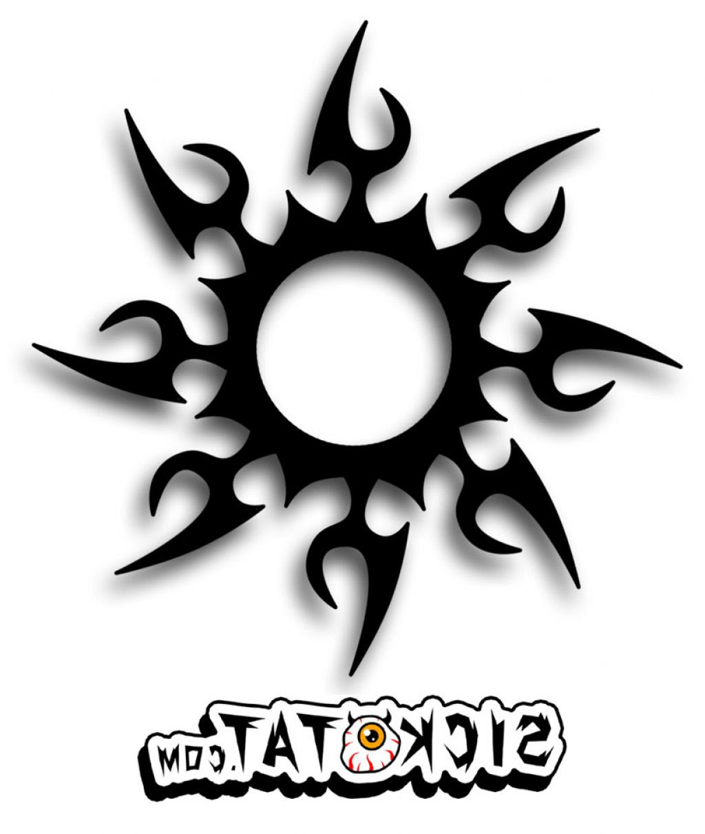 Tribal Sun Drawing At Getdrawingscom Free For Personal Use Tribal