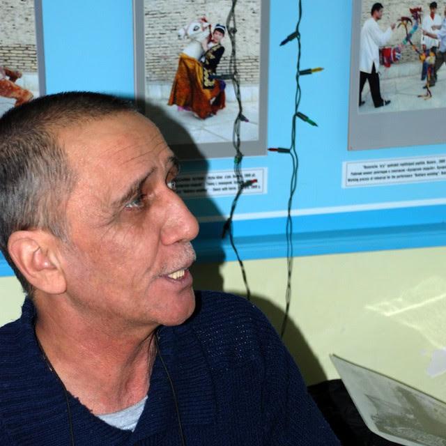 puppet player, Bukhara