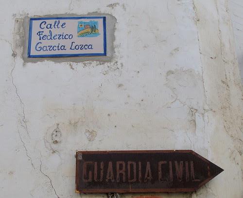 Calle en Vélez de Benaudalla