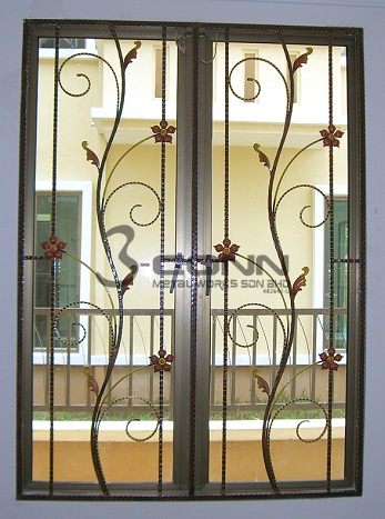 Wrought Iron Window Grillwindow Grill Designgrills Wrought Iron