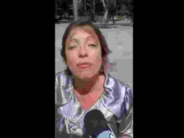 Resultado de imagem para reporter do sbt agride guarda municipal