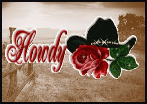 Howdy With A Cowboy Hat. Free Hello eCards, Greeting Cards