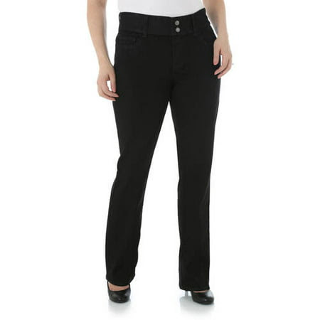Riders by Lee Women's Waist Smoother Straight Leg Jean Available in Regular and Petite