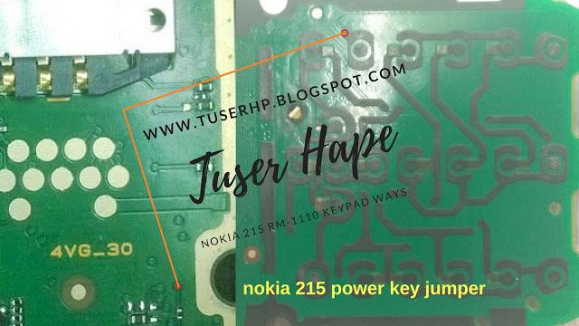 Nokia 215 Power Button Solution Jumper Ways