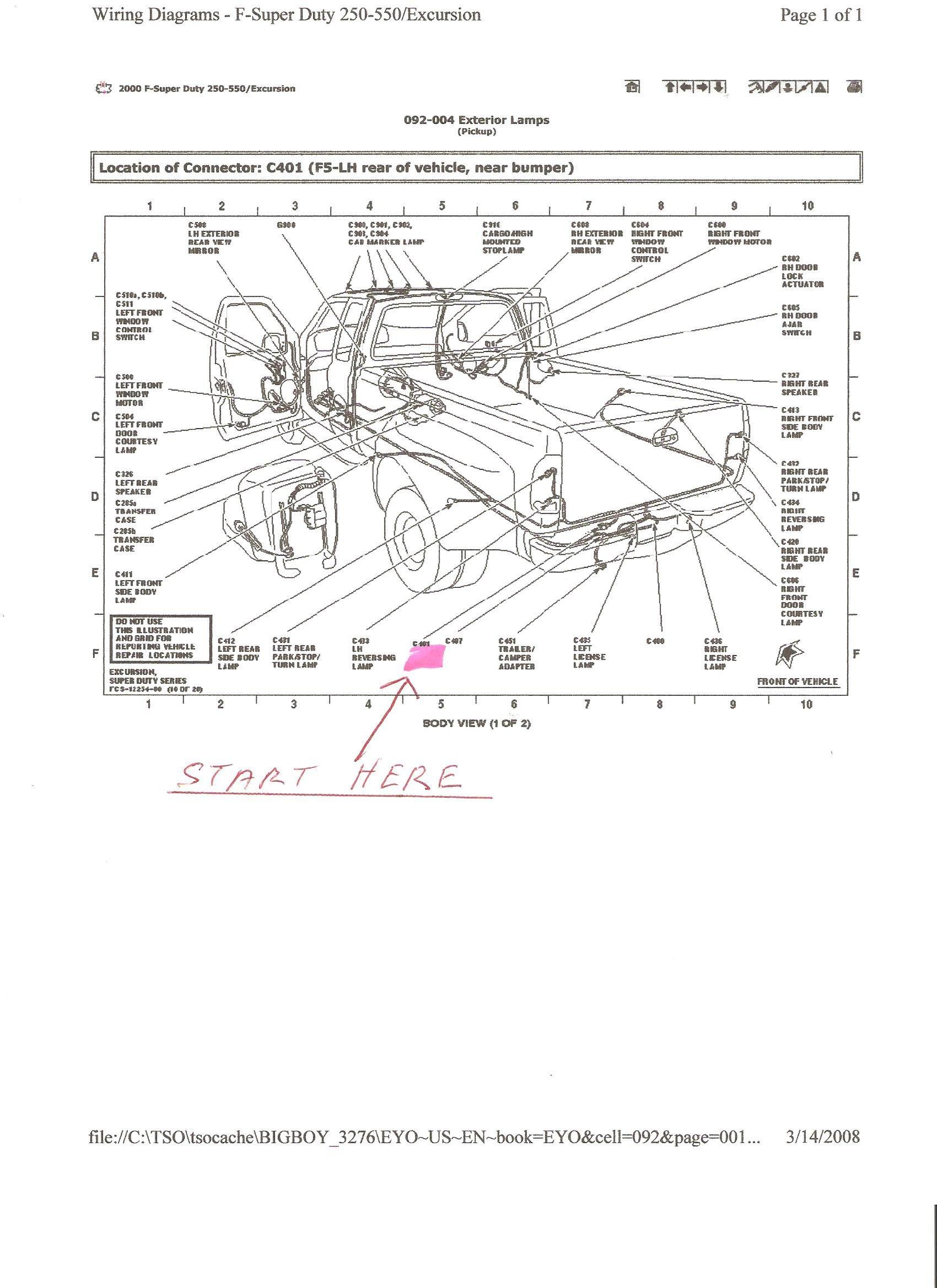 Super Duty Wiring Diagram