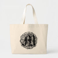 "Monarchia ""M"" Canvas Bag"