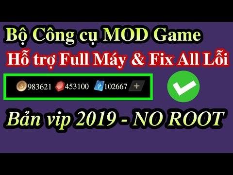 Bộ công cụ hỗ trợ MOD Game bản VIP trên Android NO ROOT Hỗ trợ Full Máy