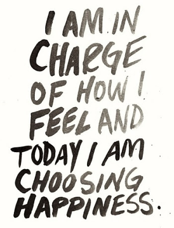 I Am Choosing Happiness Quote Picture