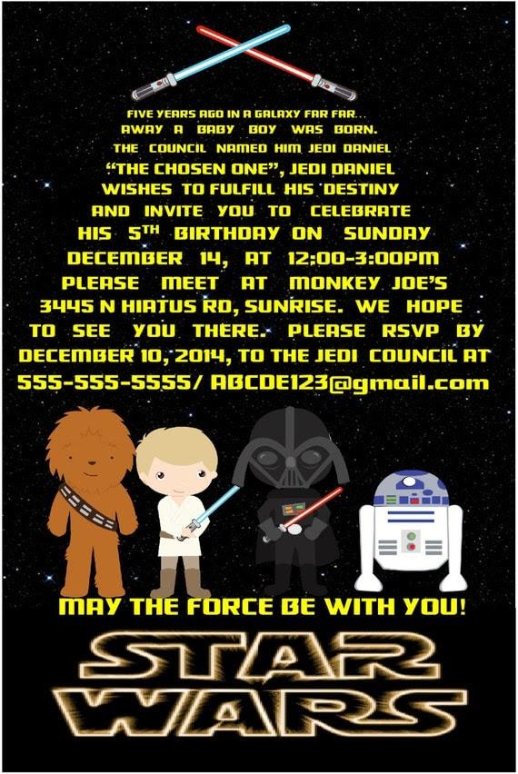 Geburtstag Star Wars