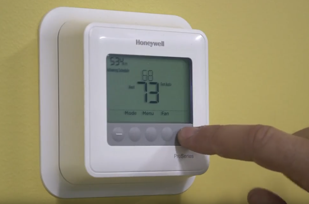 How To Reset Honeywell Thermostat After Changing Batteries