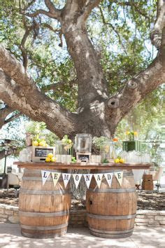 wedding drink station ideas .not so much the barrels