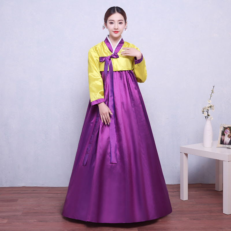 korean womens traditional gown costumes hanbok national