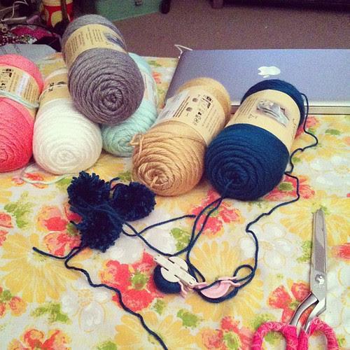 Pom-Pom Making by Jeni Baker