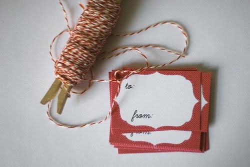 printable gift tags - simplicity
